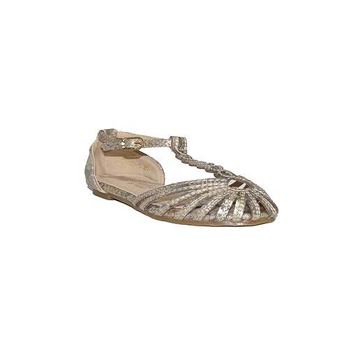 9699238fd BUBBLE BOBBLE Bubble Sandalia CANGREJERA A1063-S Sandalias Cangrejeras Niña  Moda Verano 2018 Plateado Rosa Plateado Rosa  Amazon.es  Zapatos y  complementos