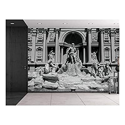 Made to Last, Gorgeous Composition, Trevi Fountain (Fontana di Trevi) in Rome Famous Sculpture Setting Italian Architecture Wall Mural