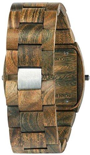 WeWood Jupiter RS Army trä-herrklocka WW02012