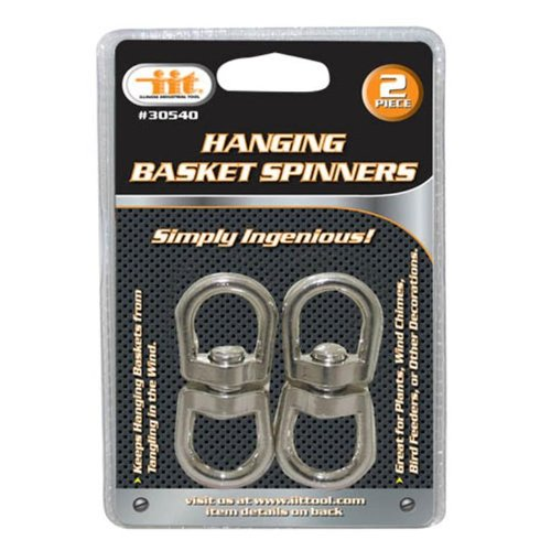 IIT 30540 Hanging Basket Spinners, 2-Piece (Hanging Basket Spinners)