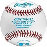 Rawlings T-Ball Training Baseballs, 12 Count, TVB