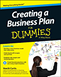 Creating a Business Plan For Dummies (For Dummies Series)