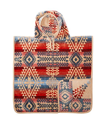 Canyonlands Hooded Towel for Kids - Absorbent Patterned Style Poncho, Desert Sky Print, One Size Desert Sky Cotton Print