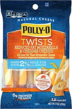 Polly-O Twists Reduced Fat String Cheese
