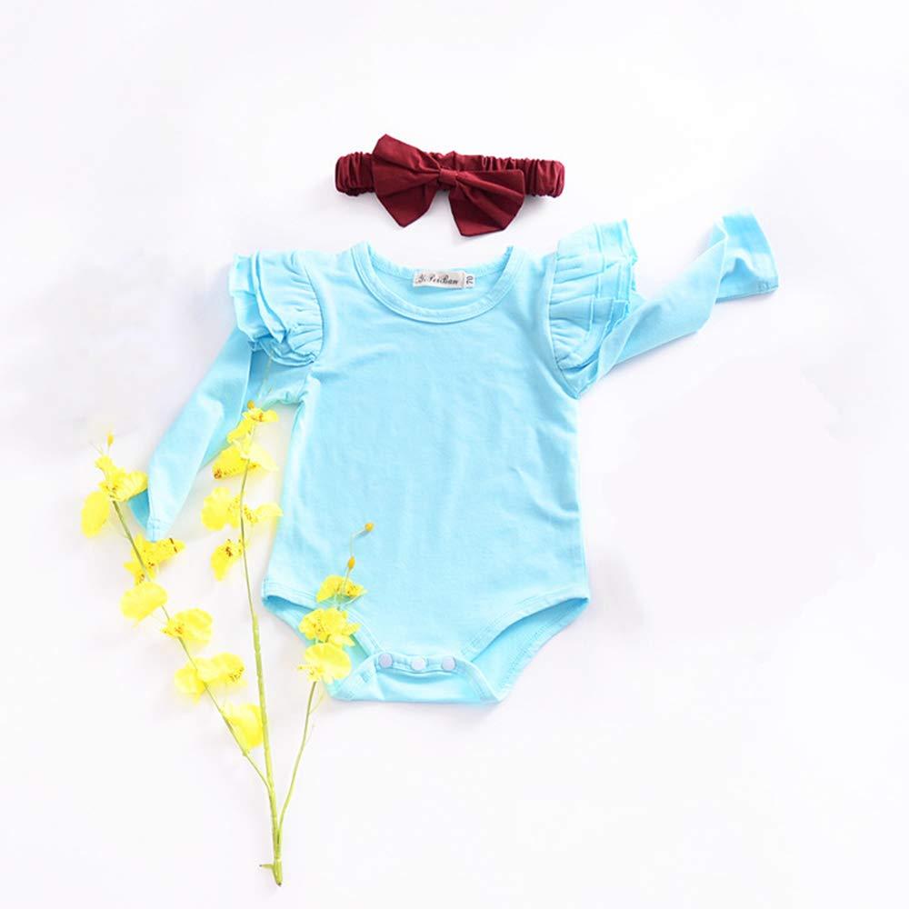 SINOTECHQIN Baby M/ädchen Spieler blau blau 70 0-24 Monate