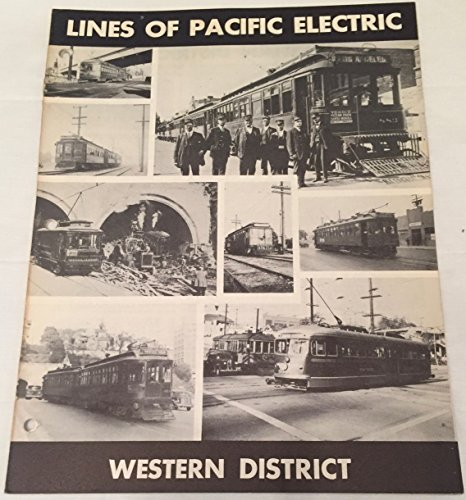 Pacific Railway Map Electric (Lines of Pacific Electric: Western District (Special 16))