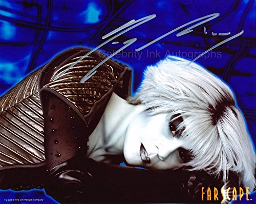 GIGI EDGLEY as Chiana - Farscape GENUINE AUTOGRAPH from Celebrity Ink
