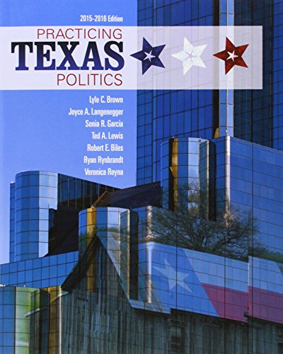 Practicing Texas Politics (Book Only)