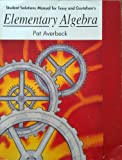 S.S.M. Elementary Algebra, Tussy and Gustafson, 0534356982
