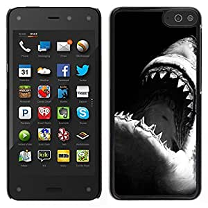 LOVE FOR Amazon Fire Phone Jaws Shark Black White Surfing Surf Personalized Design Custom DIY Case Cover