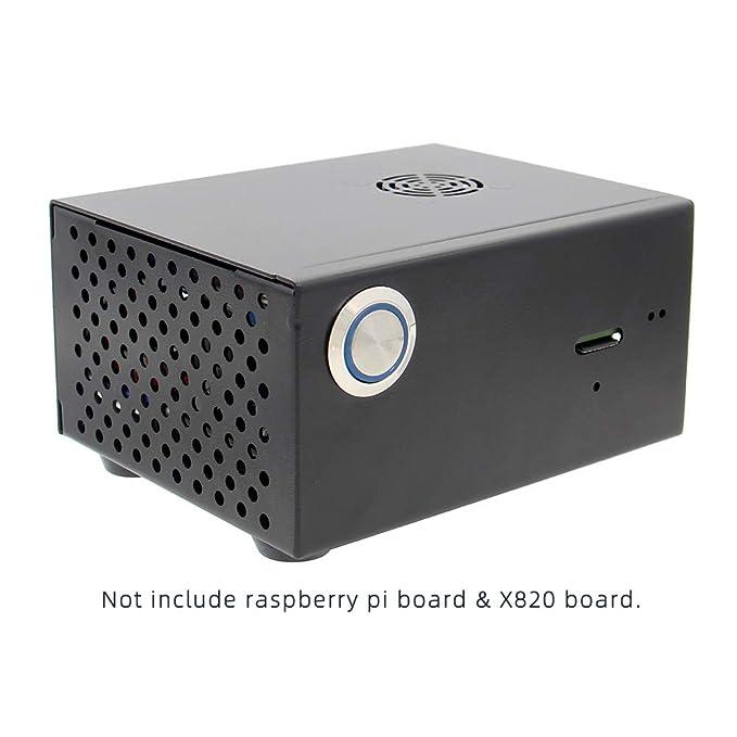 Geekworm Raspberry Pi X820 V3.0 SSD&HDD SATA Storage Board ...