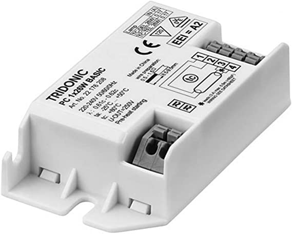Tridonic Digital High Frequency Square Fluorescent Ballast Runs 28w 2d Or Compact Pl 26w 22176208 Amazon Co Uk Lighting