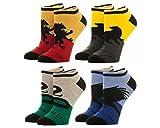 Harry Potter - Hogwarts House Ankle Socks 4 Pack Size ONE SIZE