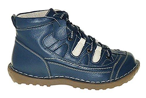 Boots Stiefel Leder Art Neu Damen Winterstiefel Damenstiefel 313 Schuhe Winterschuhe TROIPqFx