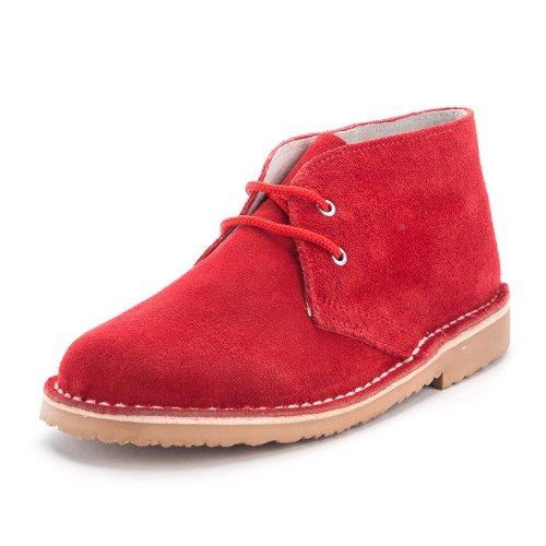 85e2f5d0512 Pisacacas Niños Botas Safari Cordones - Color  Rojo - Talla  40  Amazon.es   Zapatos y complementos