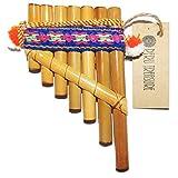 4 pic pipe - Petite Tiny Peru Toy Antara Pan Flute 7 Pipes