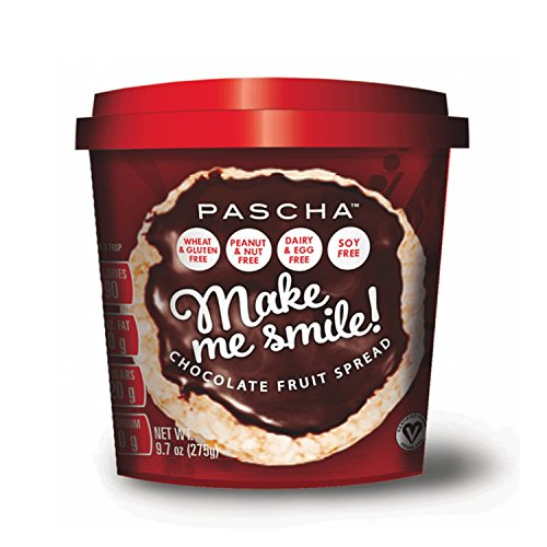 Pascha Make Me Smile Chocolate Fruit Spread, 9.7 Ounce (Pack of 6) by Pascha