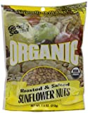 Good Sense Organic Sunflower Nuts, Roasted, Salted, 7.5-Ounce Bags (Pack of 12)