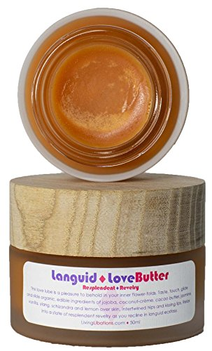Living Libations - Organic/Wildcrafted Languid Love Butter (1.69 oz / 50 ml)