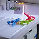 ECROCY 8 Pack Beach Towel Clips in Bright Colors