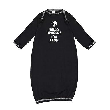 Amazon.com: Mashed Clothing Hello, World! Im Leon ...
