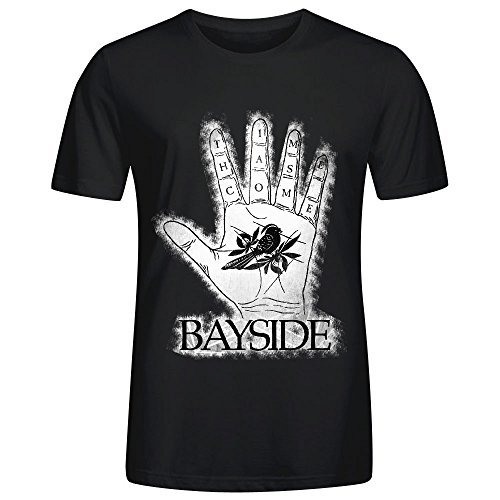 Bayside-Time Has Come Design Men T Shirts - Miami Bayside