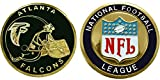 Atlanta Falcons Collectible Challenge Coin- Logo Poker - Lucky Chip