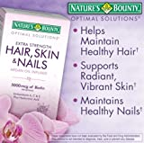Nature's Bounty Hair Skin and Nails 5000 mcg of Biotin