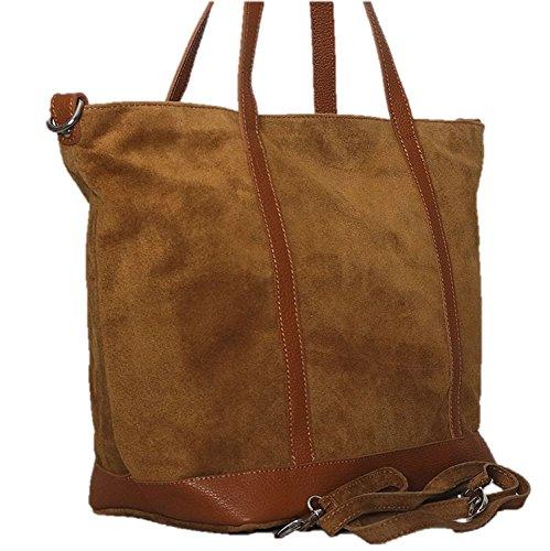 Chapeau-tendance - Bolso al hombro para hombre marrón marrón claro
