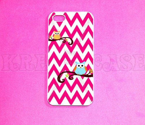 iPhone 5c case, Owl with chevron pattern iPhone 5c Case, iPhone 5c Case for iPhone 5c, iPhone 5c Case, Cute iPhone...