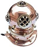 Hampton Nautical  Copper Divers Helmet, 9