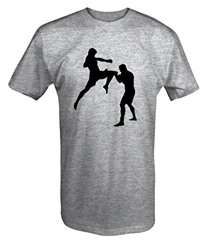 MMA Flying Knee Ring Cage Fighter T shirt - Large ()