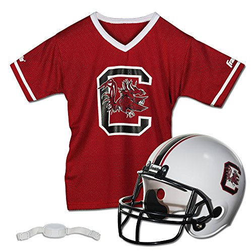 Franklin Sports NCAA South Carolina Fighting Gamecocks Helmet and Jersey Set]()