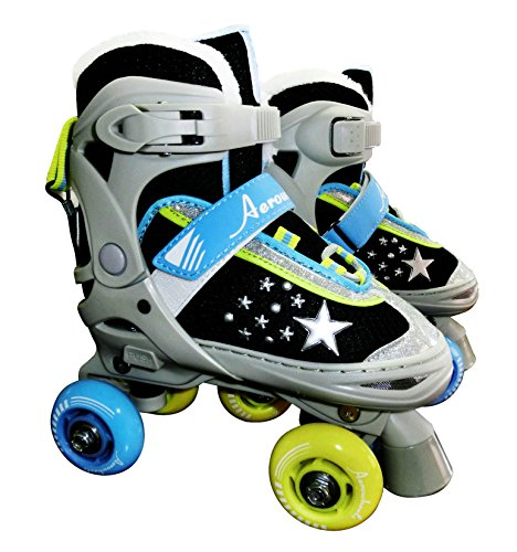JNJ Aerowheels Kids Skinny Wheels Roller Skate, One Size by JNJ