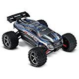 Traxxas E-Revo VXL: 1 16-Scale 4WD Racing Monster Truck with TQi 2.4GHz Radio & TSM - Silver