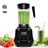 AIMORES Blender for Smoothies Heavy Duty, 75oz 3 in 1 Programmed...