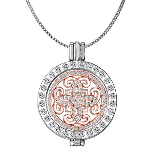 New Arrival Luxury Commemorate Coin Locket Pendant Necklace - Vintage Cross (Big Locket)