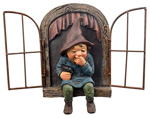 Red Carpet Studios 49061 Window Tree Face Giggling Gnome