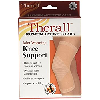 587cd32aa6 Amazon.com: THERALL JOINT WARMING KNEE SUPPORT Large: Health ...