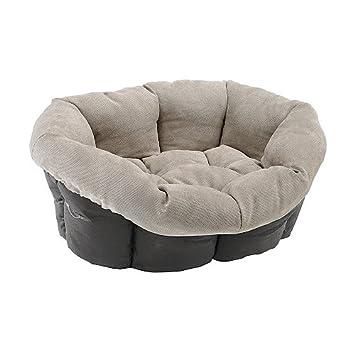 Ferplast sofá Prestige 2 cojín Gato y Perro Cama Cubierta/Tejido sintético, 52 x 39 x 21 cm, Burdeos: Amazon.es: Productos para mascotas