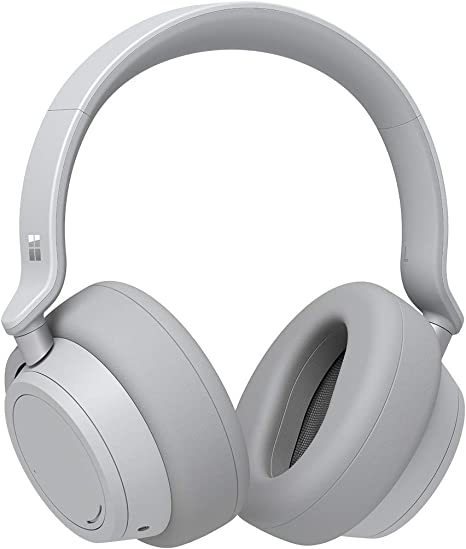 Microsoft Surface Wireless Bluetooth Noise Cancelling Headphones Platinum Amazon Co Uk Computers Accessories