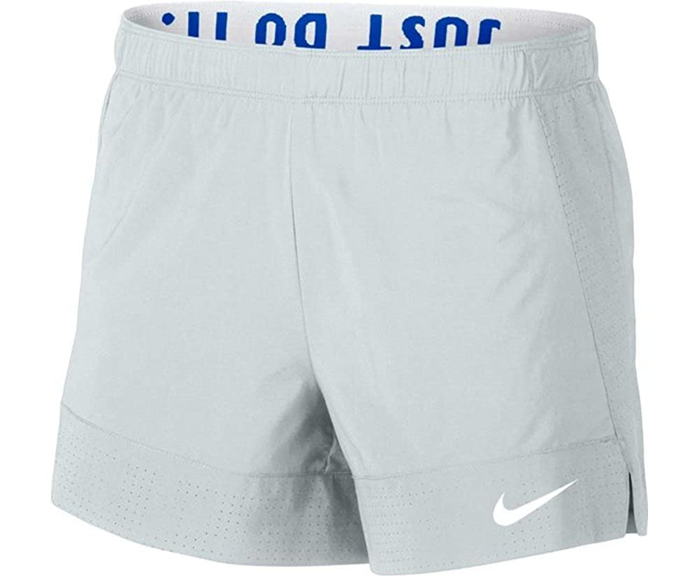 605e50f75a Amazon.com: NIKE Women's Flex Training Short (Grey/White/Crimson Pulse,  Medium) (Pure Platinum/Hyper Cobalt/White, X-Small): Shoes
