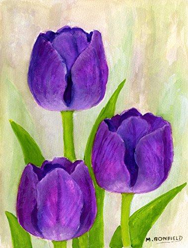 Tulips Garden Flag - 4