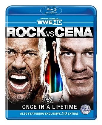 WWE - Rock vs Cena: Once In A Lifetime [Blu-ray]: Amazon co