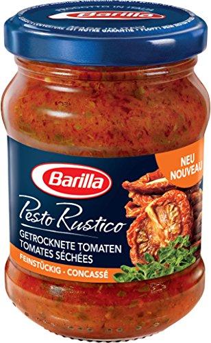 Barilla Pesto Rustico getrocknete Tomaten, 4er Pack (4 x 175 g)