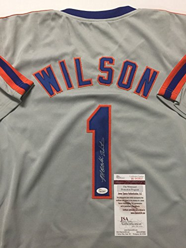 Signed New York Mets Jersey - 8