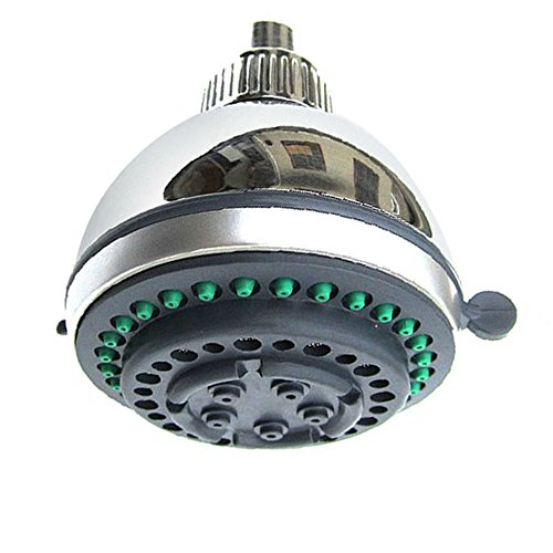 Vansee❤❤ Bathhouse Water-Saving Polished Bath Top Rainfall Shower Head Sprinkler Round : Shower : Faucets : Home & Living : Home : Bath (Dynametric 5' Bath Drain)