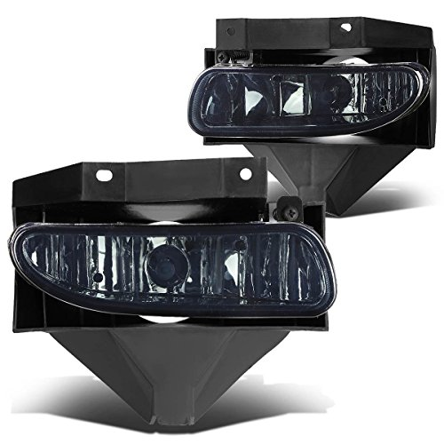(DNA Motoring FLZTL115SM Pair Bumper Fog Lights [For 99-04 Ford Mustang GT])