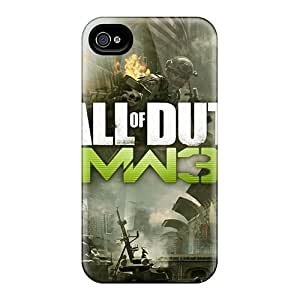 Protective Hard Cell-phone Cases For Apple Iphone 4/4s With Custom High-definition Mw3 Series AshtonWells