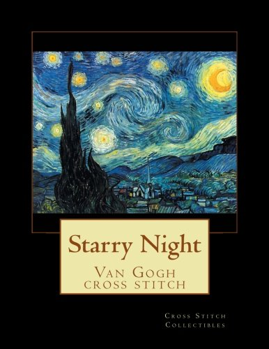 - Starry Night: Van Gogh cross stitch pattern